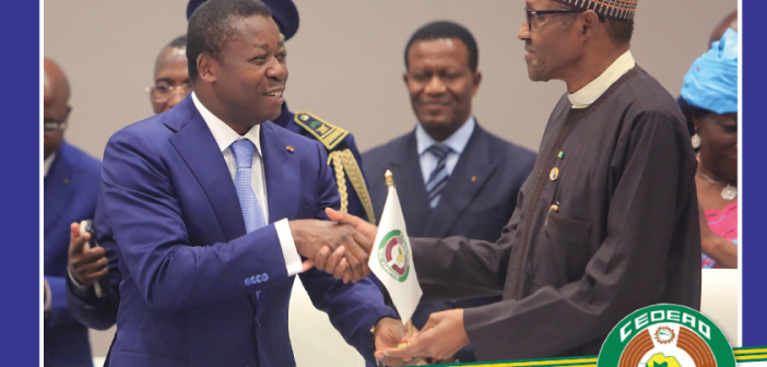 Togo Presidency in office of the ECOWAS – Bilingual English & French