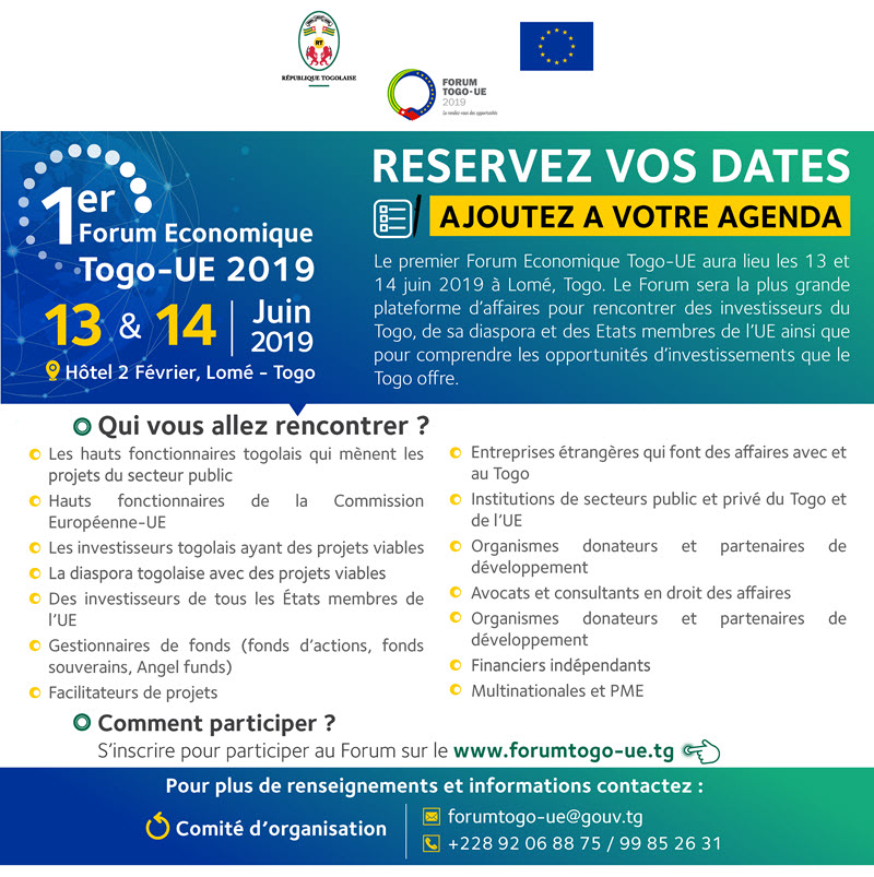 Togo EU forum rencontre