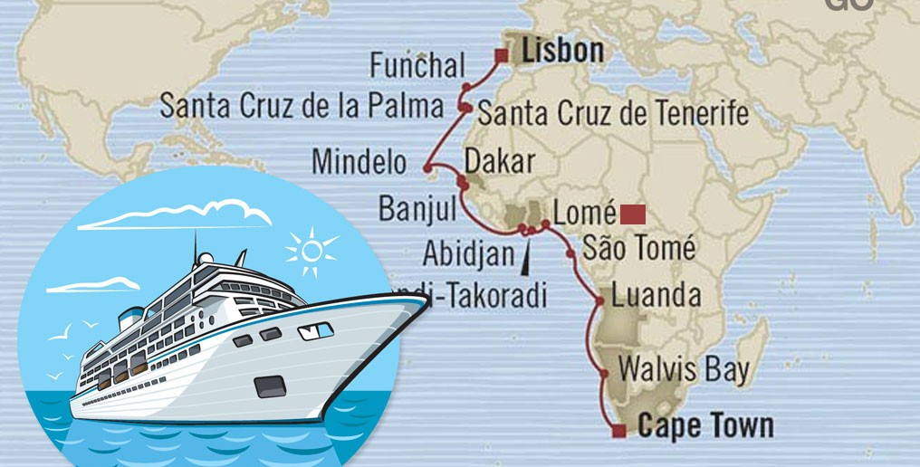 Lome a Popular Stop for Cruise Ships