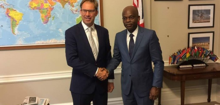 Robert Dussey, Togolese Minister of Foreign Affairs Meets the UK Minister for Africa in London