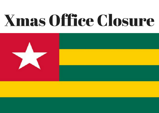 Xmas Office Closure Dates 2019-2020